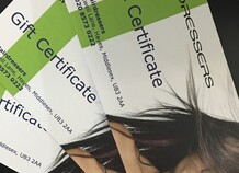 The Hairdressers Gift Vouchers